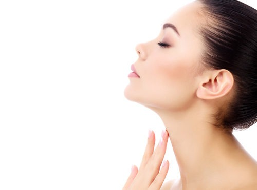 Kybella treatment for women